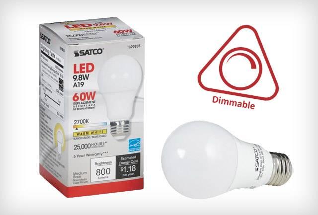 Szabályozható fényerejű LED fényforrás
