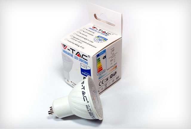 LED fényforrás csomagolása