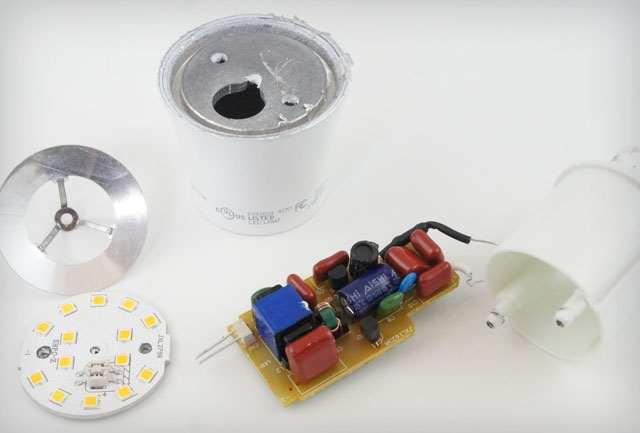 LED fényforrás tápegysége
