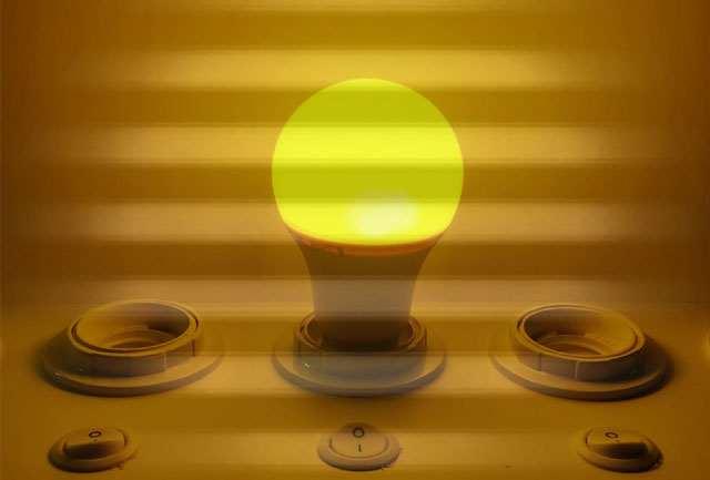 Vibráló LED fényforrás