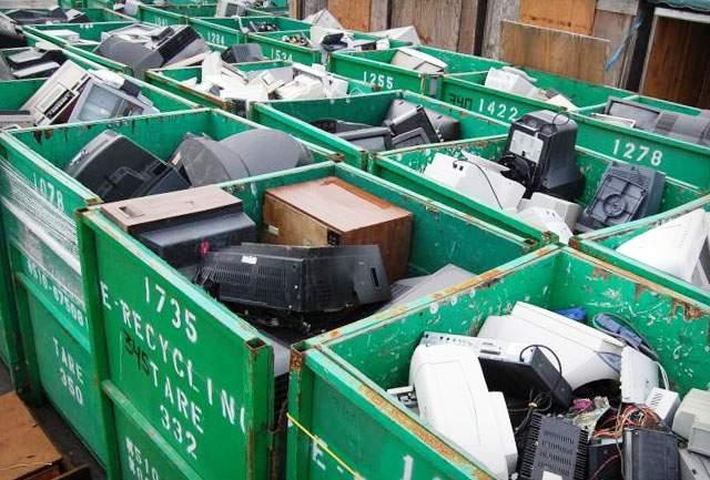 Elektronikai hulladék gyűjtő