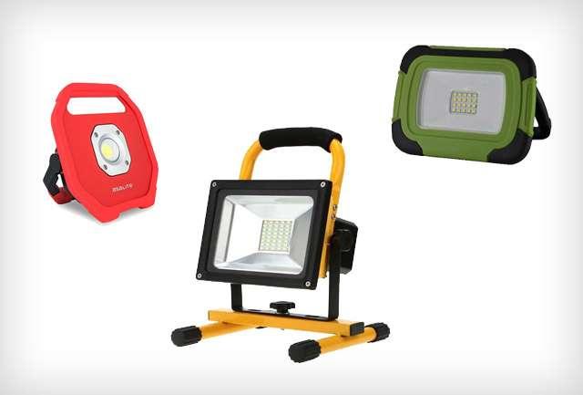 Akkumulátoros reflektorok, munkalámpák