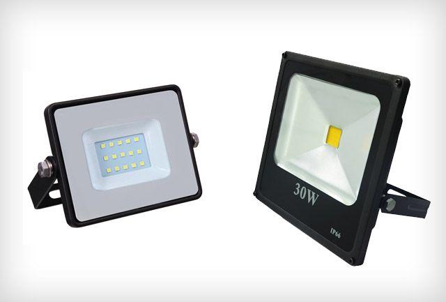 SMD LED reflektor, COB LED reflektor