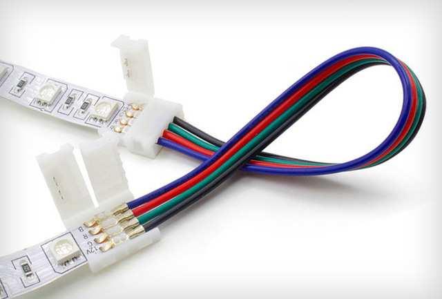 LED szalag toldóelem