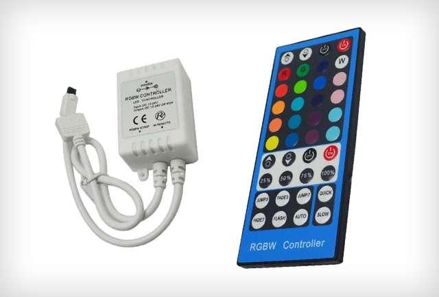 Infrás RGBW LED szalag vezérlő