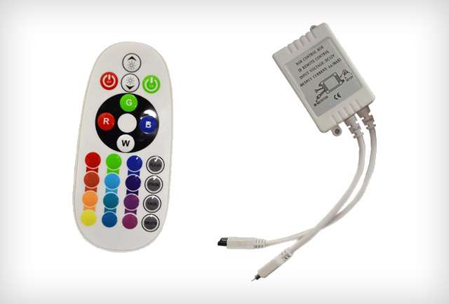 Infrás RGB LED szalag vezérlő