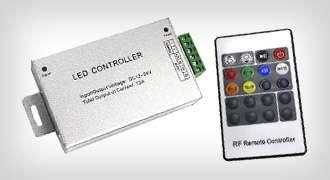 LED szalag vezérlők - (Távirányítós vezérlők)