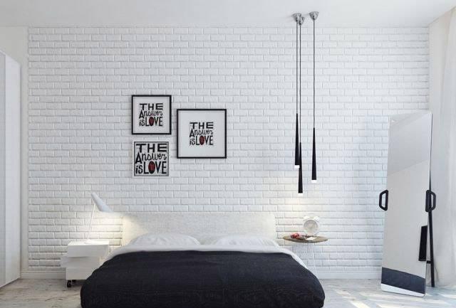 Hálószoba világítás dekorációs fugagesztékekkel
