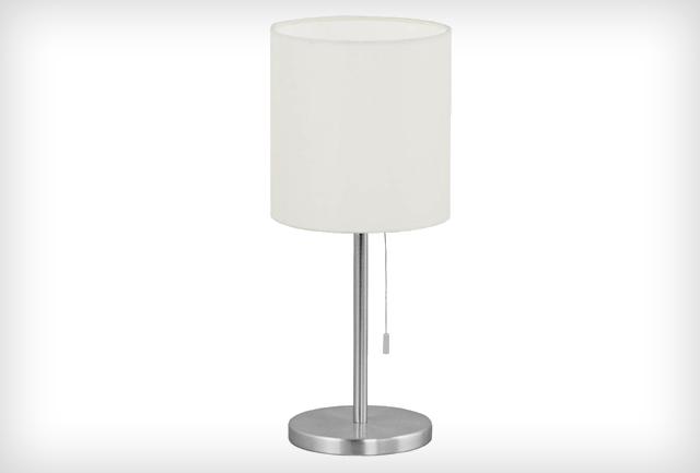 Fehér állólámpa