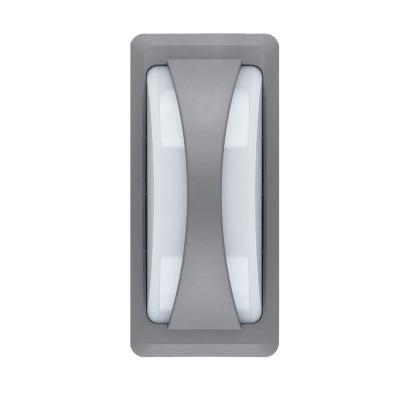 Kültéri fali lámpa, szürke (4000K) -8246