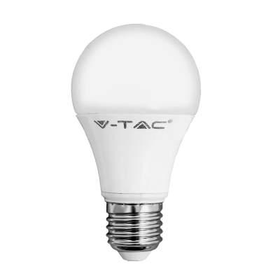 LED izzó E27, 9W Meleg fehér (3000K) -228