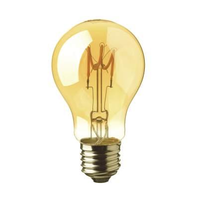 LED fényforrás E27, A60 3W (2200K) -7219