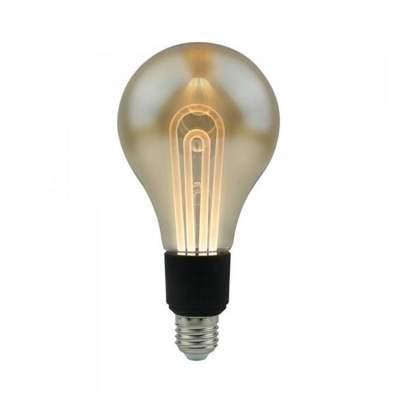 LED fényforrás E27 Filament hatás G100, 5W (2200K) -2748