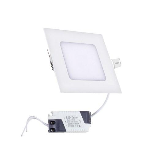 Prémium LED panel, négyzet, 6W (3000K) -703