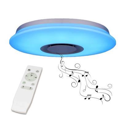 Mennyezeti színváltós LED lámpa bluetooth hangszóróval 36W -1490