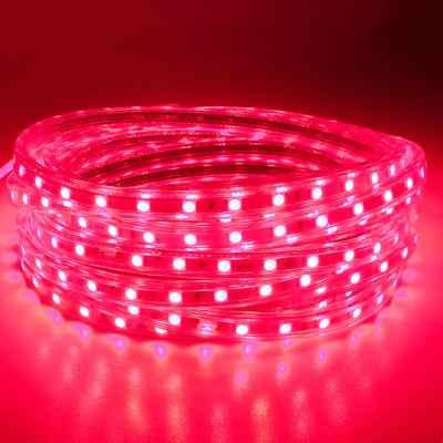 Vizálló LED szalag 60l/m, IP65 - Piros fényű -2036